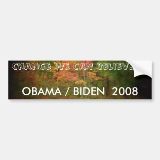 OBAMA/BIDEN 2008 BUMPERSTICKER