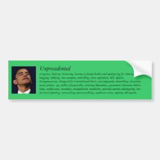 Obama en Gehucht Bumpersticker