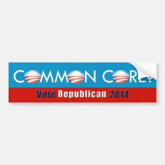 Obama (Gemeenschappelijke Kern? /Vote de Bumpersticker