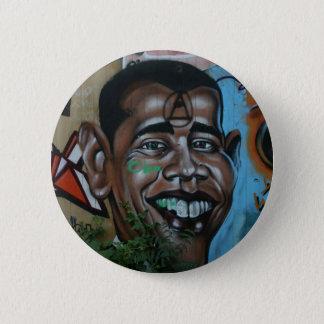 Obama Graffiti Ronde Button 5,7 Cm