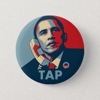 Obama - Kraan Ronde Button 5,7 Cm
