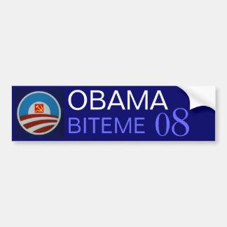 Obama-logo-712332, hamersikkel, OBAMA, BITEME… Bumpersticker