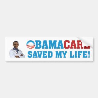 Obamacare Gered Mijn Leven! Bumpersticker