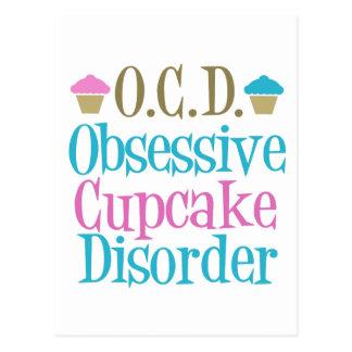Obsessieve Wanorde Cupcake Briefkaart