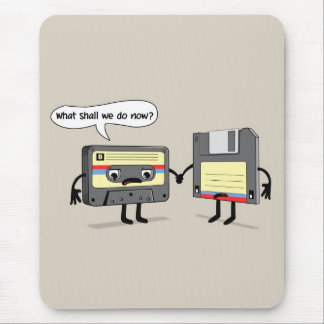 Obsoletes (Retro Band van de Cassette van de Muismat