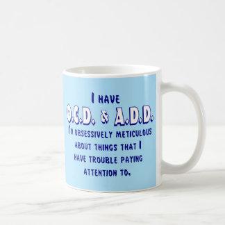 OCD & VOEGT Blauw & Wit toe Koffiemok