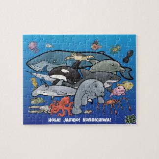 Oceaan Dieren - Puzzel Legpuzzel