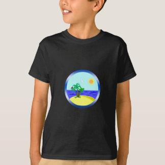 Oceaan en zonlicht t shirt