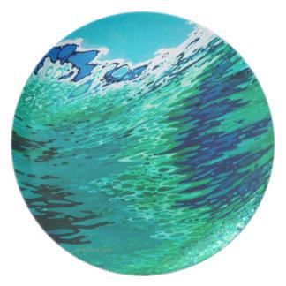 """Oceaan Golf 10 het"""" Bord van het Diner door Margar"""
