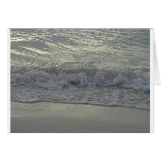 Oceaan golven kaart