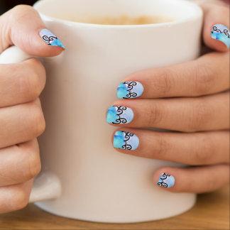 Oceaan Medaillon Minx Nail Art