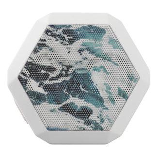 oceaan mooi de natuur blauw water van het witte bluetooth speaker