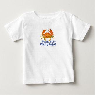 Oceaan Stad Maryland Baby T Shirts
