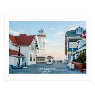 Oceaan Stad Maryland Briefkaart