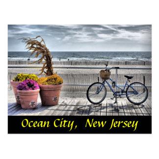 Oceaan Stad, New Jersey Briefkaart