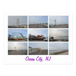 Oceaan Stad NJ Briefkaart