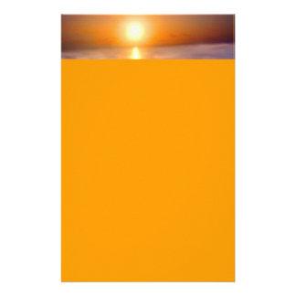 Oceaan Zonsondergang Briefpapier