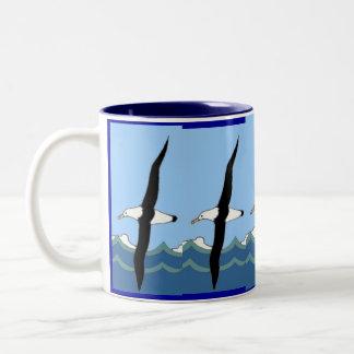 Oceaan Zwerver Tweekleurige Koffiemok