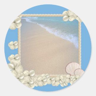 Oceanic Stickers van het Baby shower van de Jongen