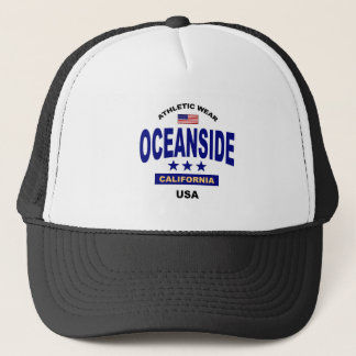 Oceanside Californië Trucker Pet
