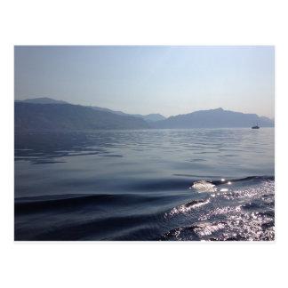 Ochtend op zee briefkaart