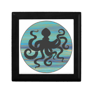 Octopus Decoratiedoosje