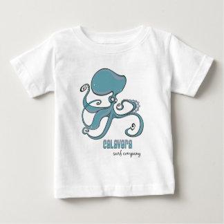 Octopus - het Kind van Co. van de Branding Baby T Shirts