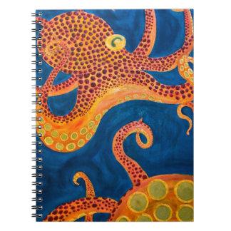 octopus het schilderen notitieboek