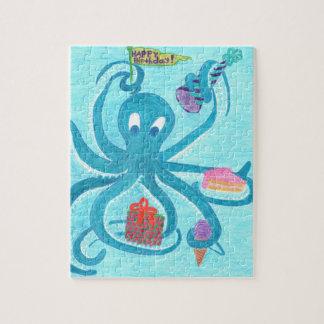 """Octopus Verjaardag 8 """" x10"""" Raadsel (komt in de Puzzel"""