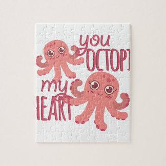 Octopussen Mijn Hart Foto Puzzels