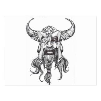 Odin de Grote Norse God Briefkaart