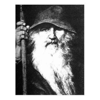 Odin de Zwerver Briefkaart