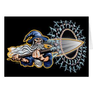 Odin - Runeblast - Wenskaart