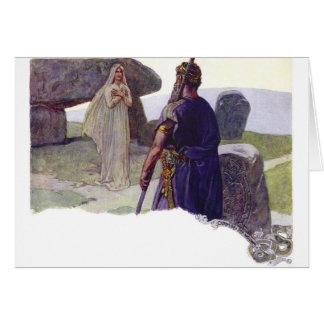 Odin voor een Völva Briefkaarten 0