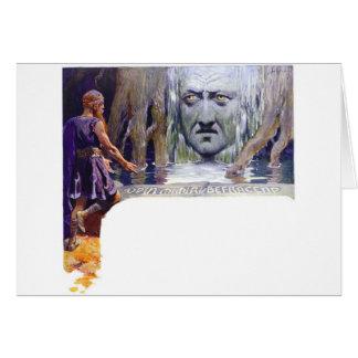 Odin voor Mimir Briefkaarten 0