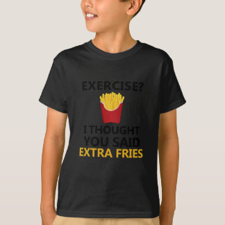 OEFENING I dacht u bovengenoemde Extra Gebraden T Shirt