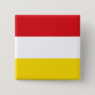 Oeteldonk, Nederland Vierkante Button 5,1 Cm