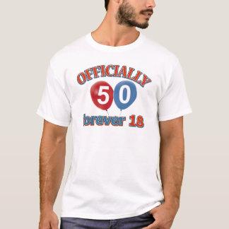 Officieel 50 voor altijd 18 t shirt