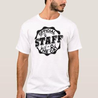 Officieel Personeel van de Kat T Shirt