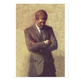 Officieel Portret John F. Kennedy Briefkaart