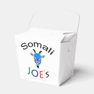 Officiële Billy Blue Goat Take-Out Box van Joe Bedankdoosjes