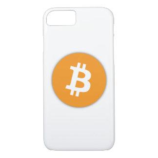 Officiële iPhone 7 van het Symbool Bitcoin Hoesje