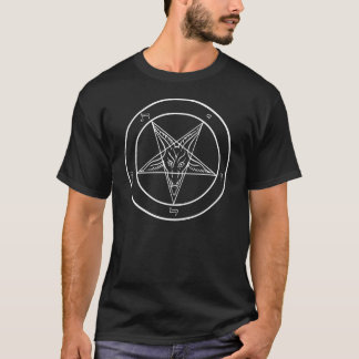 Officiële Kerk van Satan Sigil van Baphomet T Shirt