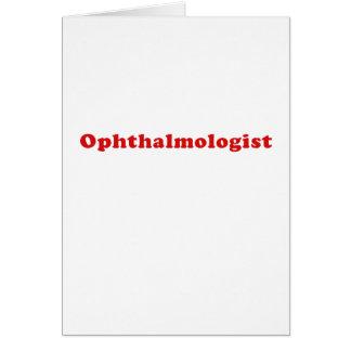 Oftalmoloog Kaart