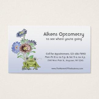 Oftalmoloog, Optometrist, de Kikker van de Visitekaartjes
