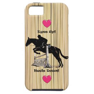 Ogen omhoog! Hielt neer! iPhone 5 van het paard Tough iPhone 5 Hoesje