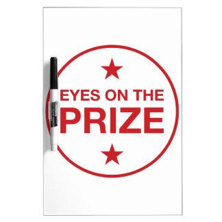 Ogen op de Cirkel van de Sterren van de Prijs Whiteboard