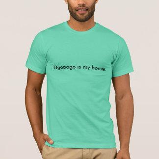 Ogopogo is mijn homie. t shirt
