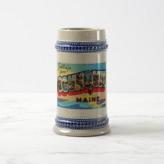 Ogunquit Maine ME de Oude Vintage Herinnering van Bierpul