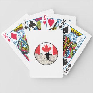 Oh Canada Bicycle Speelkaarten
